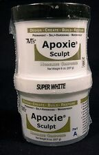 Aves Apoxie Sculpt Super White 2-Part Self-Hardening Modeling Compound 1 lb