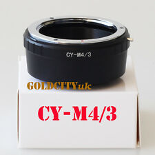 CY Contax Yashica Lens To Micro 4/3 M4/3 Adapter GF3 GH3 EPL3 EPL5 G5 G3 E-PM2
