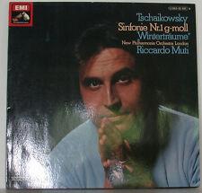 "TSCHAIKOWSKY SINFONIE NR. 1 WINTERTRÄUME RICCARDO MUTI 12"" LP (e165)"