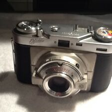 Vintage Wirgin camera Edixa in original leather case made in germany