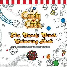 Candy Crush Adult Colouring Book Creative Art Therapy Cute Cakes Kingdom Gift