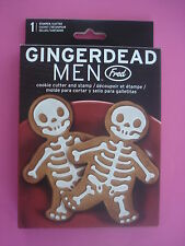 FRED SKELETON COOKIE CUTTER SKELETON BONES NEW