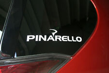 PINARELLO CYCLE die-cut car window sticker. Buy 2 get 1 free offer!