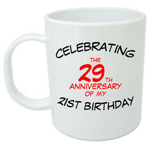 Celebrating 50th Mug - 50th Birthday Gifts / Presents for men, women, gift ideas