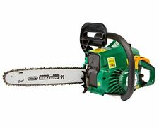 New 37.2 CC CORDLESS PETROL CHAINSAW B&Q (No Chain)