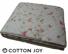 Copriletto Trapuntato - Quilt. 100% Percalle. COTTON JOY - JOIE. Matrimoniale.