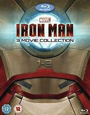 Iron Man Trilogy 1-3 Movie 1 2 3 Collection New Blu Ray Box Set Region Free