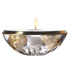 NEW Waterford Crystal Lismore Gold Votive. Rare Item. Free Shipping