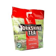 YORKSHIRE TEA BAGS x 480'S 1.5KG BLACK TEA EACH BAG MAKES 2 CUPS - TRACKED POST!