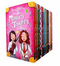 Enid Blyton Complete Malory Towers Collection 12 Children Books Gift Set NEW
