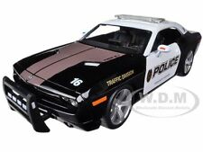 2006 DODGE CHALLENGER CONCEPT POLICE CAR 1/18 DIECAST MODEL  BY MAISTO 31365