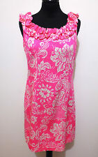 HAWAII VINTAGE '70 Abito Vestito Donna Flower Cotton Woman Dress Sz.S - 40