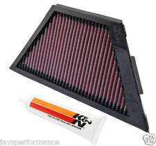KAWASAKI ZG1400 CONCOURS (08-14) K&N HIGH FLOW AIR FILTER ELEMENT KA-1406