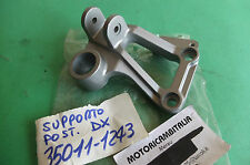 KAWASAKI ZX600 GPZ600 NINJA  STAFFA PEDANA HOLDER STEP REAR RH 35011-1243