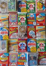 OLD VINTAGE BASEBALL CARDS IN FACTORY SEALED PACKS
