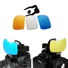 Pop Up Flash Diffuser 3 COLOR for Canon 1200D 1100D 1000D 700D 600D 70D 7D 5D