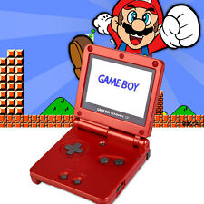 AGS-101 Brighter Screen GBA SP Game Console Game Boy Advance For Nintendo Red