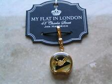 "Brighton Charm ""Hat's Off"" My Flat in London Jewelry Fit for a Queen New on card"