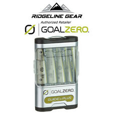 GOAL ZERO Guide 10 Plus Recharger/USB Power Pack & Rechargable AA/AAA Batteries