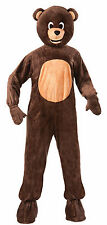 Brown Bear Mascot Costume Teddy Bear Full Body Animal Suit Teen Size