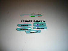 BIANCHI FRAME CABLE PROTECTION GUARDS Celeste/Black