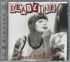 DEADLINE - BACK FOR MORE - (still sealed cd) - AHOY CD 223