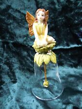 Fairy Hand Bell glass Altar Pagan 14.5 CM TALL