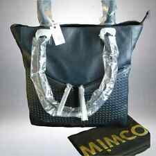 NEW MIMCO THE M TOTE LEATHER  BAG in INK BLUE *now very rare*  rrp$499 SALE $249