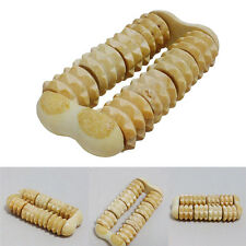 New Wooden Foot Roller Massagers Wood Massage Reflexology Relax Relief Spa Care