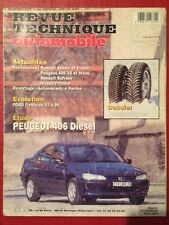Revue Technique Automobile PEUGEOT 406 Diesel 1,9 SL ST SVDT