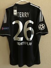 England Chelsea J.Terry  Player Issue Shirt 7,8,9,10 uefa CL Match Unworn Jersey