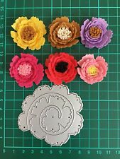 "D036 3"" Quilling Roll Up Flower Cutting Die Suit for Sizzix And More Machine"
