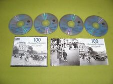 Aznavour / Yves Montand / Edith Piaf / 100 France French Chansons IMPORT 4xCD