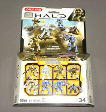 HALO Collector's Edition Pack MEGA BLOKS Set 97205 HALO 8 Exclusive Figure Set