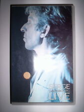 K7 VIDEO VHS SERGE GAINSBOURG LIVE