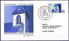 BRD 2001: Kirche von Canzow! FDC der Nr. 2199 mit Berliner Stempel! Gelaufen!