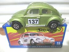 Matchbox 2004 Hershey Toy Show Dealer #15 Lime 1962 VW Volkswagen Car NB 300made