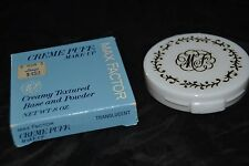 Vintage MAX FACTOR Creme Puff Make-up Compact .8 oz Creamy TRANSLUCENT NOS