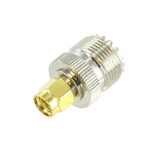 SMA Male to UHF Female RF Coax Cable Adapter
