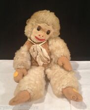 ANTIQUE monkey PLUSH stuffed TOY~ Very Old ~ EXCELLENT SHAPE ~ L@@K