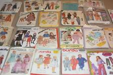 Lot 27 Vintage SEWING PATTERNS Children's Kids Baby 1950s+ (#7)