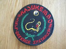 KUNGFU EMBROIDERY PATCH--007
