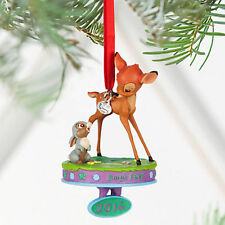 NEW Disney Store Bambi and Thumper Sketchbook Ornament Baby's First 2016 NIB