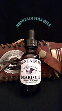 MOUNTAIN MAN OILS Beard Oil summer woods (warm earthy scent)100% NATURAL ORGANIC