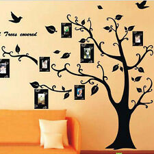 Xmas gift 50*70cm Photo Tree 3D Sticker DIY Decoration Wall Stickers Decals