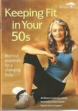 KEEPING FIT IN YOUR 50s - 3 DVD BOX SET - FLEXIBILITY, STRENGTH & AEROBICS