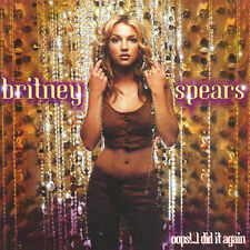 BRITNEY SPEARS Oops!...I Did It Again CD BRAND NEW