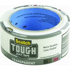 "6 Pk 3M 1.88"" X 20 Yd Scotch Transparent Duct Tape 2120-A"