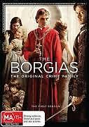 THE BORGIAS : THE ORIGINAL CRIME FAMILY - FIRST SEASON (3-DVD SET) R-4, LIKE NEW