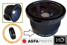 Hi Def Super Wide Fisheye Lens With Macro for Canon Powershot SX40 HS